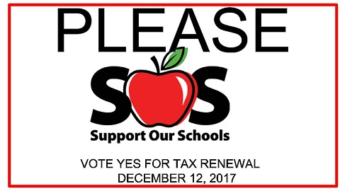 PLEASE SUPPORT OUR SCHOOLS!
